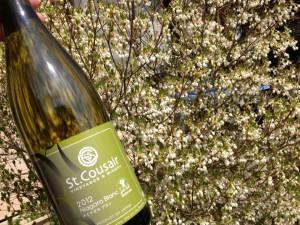 春風を感じさせるワインです。