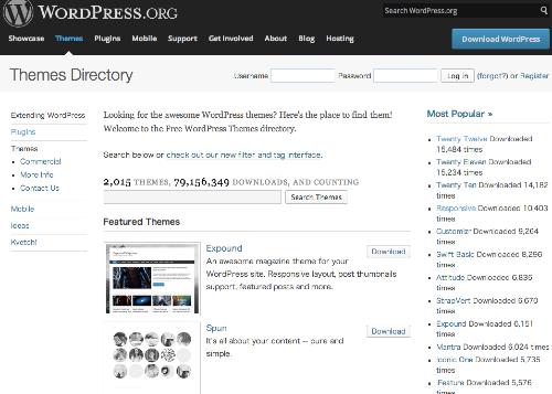 WordPress_›_Free_WordPress_Themes