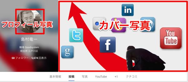 Google+カバー写真